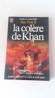 Star trek II : the wrath of khan La colere de Khan - Vonda N. McIntyre