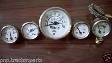 Willys MB Jeep Ford GPW CJ  Speedometer Temp Oil Fuel  Amp Gauges Kit  A1