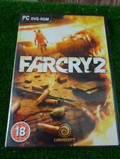 FARCRY 2  - PC DVD ROM GAME COMPLETE WITH MAP VGC action game
