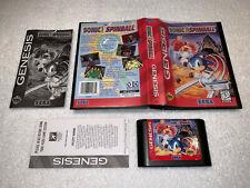 Sonic The Hedgehog Spinball (Sega Genesis) Complete in Case Nr Mint!