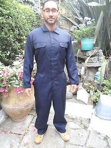 NavyBlue Poly Cotton Coverall