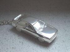 Schlüsselanhänger Audi Quattro alte Ausführung versilbert (5000)
