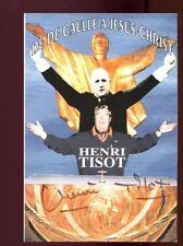 PHOTOGRAPHIE ORIGINALE DEDICACEE de l'acteur humoriste Henri TISOT