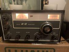 R L Drake 2-C Ham Radio Receiver 2C Amateur Bands Awesome Shape! Vintage