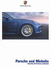PORSCHE MICHELIN Reifen 911 997 996 993 964 930 Carrera GT Prospekt Brochure 90