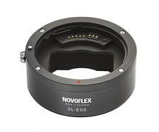 NOVOFLEX SL/EOS Objektivadapter - Canon EF an Leica SL mit AF & Blendensteuer.