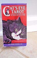 CATS EYE TAROT CARDS BOOK INSPIRATION FELINE WISDOM MAGIC CAT RESCUE