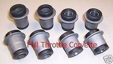 1963 - 1982 Corvette Front Control Arm / A-Arm Bushing Set. 8 Pc.