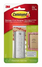 Command Sawtooth Sticky Nail And Stabiliser Strips Damage Free Wall Hanging
