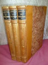Jean Jacques Rousseau LES CONFESSIONS 3/3 vols Illustrations de Maurice Leloir