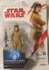 Star Wars The Last Jedi 3.75-Inch Figure Force Link Resistance Tech Rose(2017)