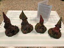 Tom Clark Gnome Figures Turtles with Pokey 81, Jennie 78, Eddie 26, Lilibet 44