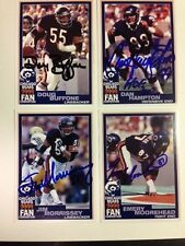 Jim Morrissey Signed Chicago Bears 1999 Fan Convention Card;  with COA