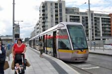 PHOTO  2011 DUBLIN THE POINT LOOKING WEST. IN 2010 THE LUAS RED LINE WAS EXTENDE