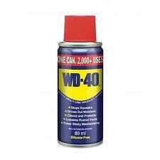 WD40,80ML Aerosol Cleans Spray Lubrication Care Lubricant Car Clear Rust