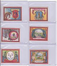 NEW CARDS ADDED 1910 HELMAR Cigarette STATE SEALS T107~ PICK ONE/ MORE COUNTRY