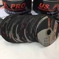 "50 X Metal Cutting/Slitting Disc Ultra Thin 115mm (4-1/2"") X 1mm fast  stainless"