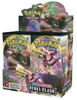 10x Sword and Shield Rebel Clash Booster Packs - Pokemon TCG