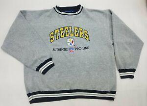 Pittsburgh Steelers NFL Football Pro Line Crewneck Sweatshirt Logo Athletic XL