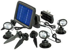esotec Solarspot Trio Solar-LED-Beleuchtungs-Set, IP44