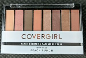 Covergirl Trunaked Peach Scented Eye Shadow Palette Peach Punch 0.23OZ New