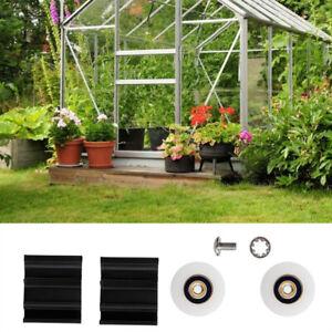 Greenhouse Door Wheel Roller Replacement Kits 22/30mm Sliding Doors Wheels New