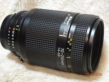 Nikon Nikkor Af 70-210 mm f/4.0-5.6 Lente AF con tapa delantera también hay marcas como nuevo