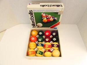 Belgian Made Aramith Billiard Balls - Complete Set of 16
