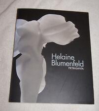 Helaine Blumenfeld Pietrasanta 2011 exhibition sculpture in Italian & English