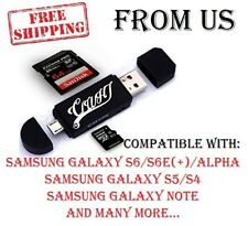Micro USB SD Flash Memory Card Adapter Reader Smart Phone Notebook Tablet PC New