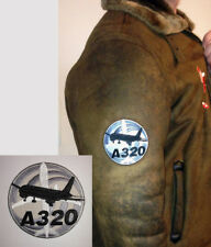PATCH AIRBUS A320 Bomber Pilot Jacket sew-on or iron-on large size fabric A 320