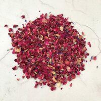 Natural Dried Petal Biodegradable Wedding Confetti 1L Burgundy Red Rose Confetti