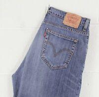 Vintage Levi's 752 Straight Fit Men's Blue Jeans W34 L32