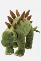 """STEGOSAURUS IKEA DINOSAUR 20"""" STUFFED ANIMAL TOY PLUSH TOY KIDS - GREEN"""