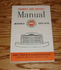 1947 1948 GMC Truck Owners Operators Drivers Manual  47 48