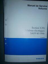 Volvo S40 V40 1996 1997 : schémas électriques