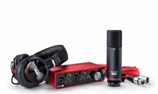 Focusrite Scarlett 2i2 Studio 3rd Gen USB Audio Interface and Recording Bundles