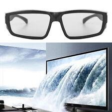 Passive 3d Glasses Black H4 Circular Polarized 3d Viewer Cinema Pub Sky 1pc
