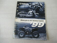 Yamaha 1999 Motorcycle & Atv Technical Update Service Manual P/N Lit-17500-00-99