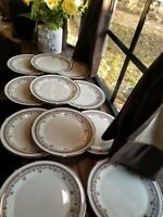 """Set of 4 Beautiful Lenox Lace Point Dinner Plates 10.5"""" selling by Sets Of 4"""