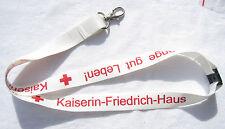 Kaiserin-Friedrich-Haus DRK Schlüsselband Lanyard NEU (A1.1)