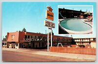 Alturas California~Trailside Inn Best Western Motel~Swimming Pool~1960s Roadside
