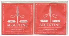 2 Stk. Augustine Red G3 Gitarren Saiten Nylon, Corde guitar Sol, G3 Strings 2pc.