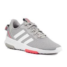 adidas Damen Schuhe Kinder Sneaker Racer TR 2.0 K FX7275 Grau Weiß Neon SALE