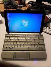 HP 2140 Mini Notebook/Laptop Windows 7 160GB HDD 1GB RAM Webcam, complete