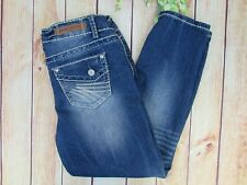 Almost Famous Women's Always Fabulous Jeans Size 9 Acid Wash Stretch