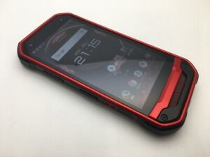 Kyocera TORQUE G03 KYV41 Red Android Phone Japan Outdoor Shockproof Used