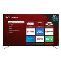 "TCL 75"" Class 4K Roku Smart TV Ultra UHD LED Wi-Fi Smart TV (2019) - 75S423"