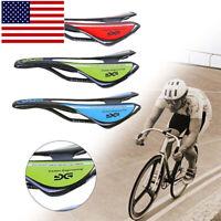Bicycle Seat Saddle Carbon Fiber Bike Cushion Cycling Seats Super Light Glossy