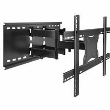 Full Motion Dual Articulating TV Wall Mount Bracket TV Rack for 37-70 inch LED